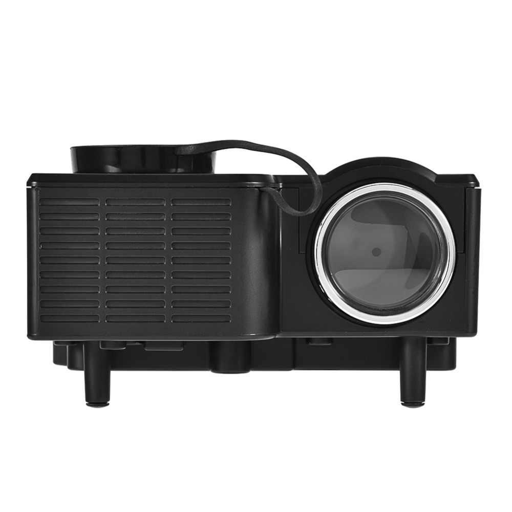 1080 P HD мини домашний светодиодный Театр проектор 4: 3/16: 9 hdmi-проектор Media Player Портативный видеоконференции Системы штепсельная вилка стандарта США