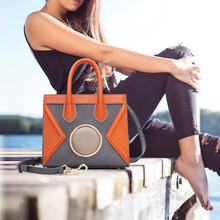 Womens Handbags 2019 Original Genuine Real Leather Handbag Cowhide Shoulder Crossbody Bag Smiley Face Bolsa Feminina