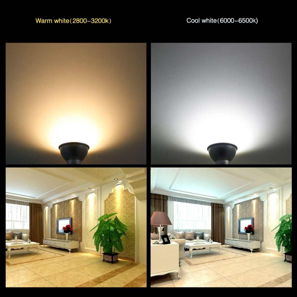 LED Spotlight Bulb Bombilla LED GU10 MR16 AC 220V 4W 6W 8W SMD2835 Spot Light Bulb Lampada Ampoule Lamp Lampara LED Lighting