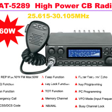 Citizens-Band Radio-Station Talking-Range Anytone High-Power CB FM AT-5289 Am-Rep Max-20km