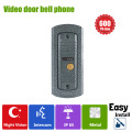 Homefong  Video Door Phone Doorbell Camera Call and Dual Intercom Waterproof Metal Case IP65 Wide Angle