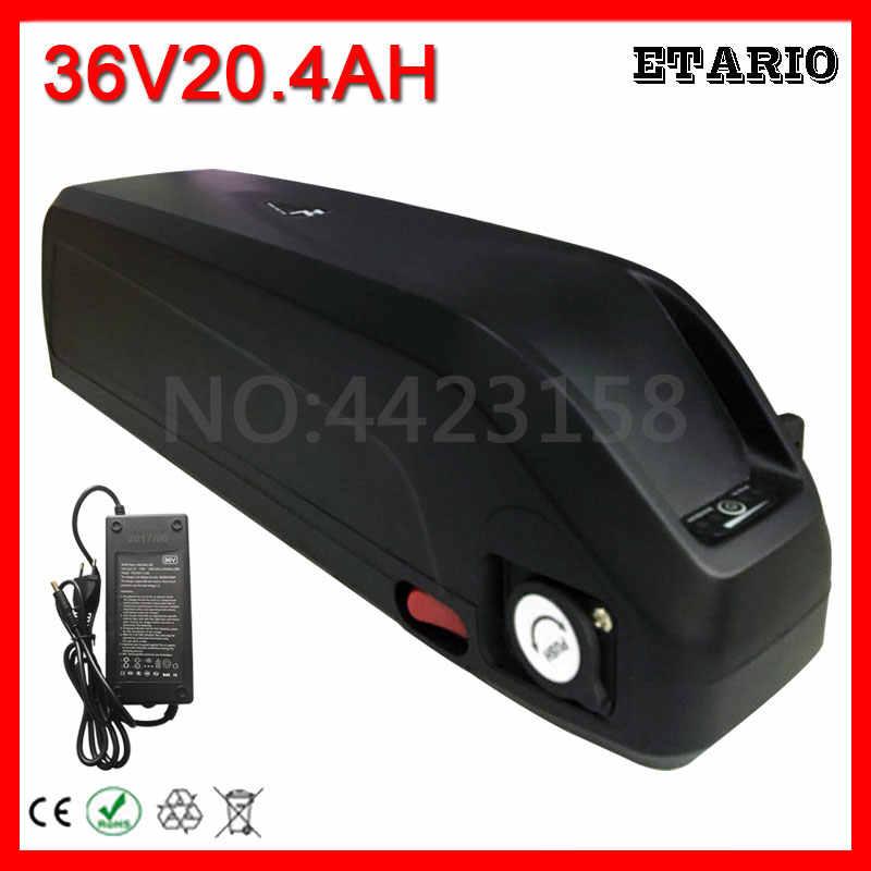 36V 20Ah для LG cell литий ионный Электрический велосипед батарея с 5V USB Hailong 36V1000W e