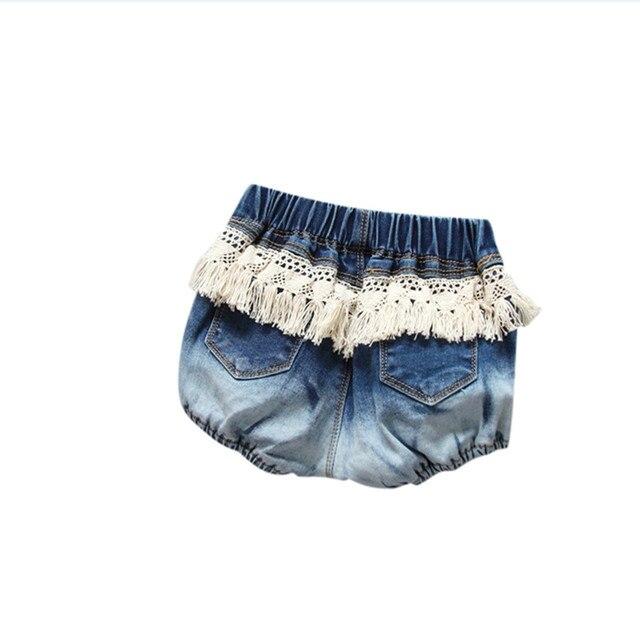 fashionable kids baby girl shorts toddler girls denim