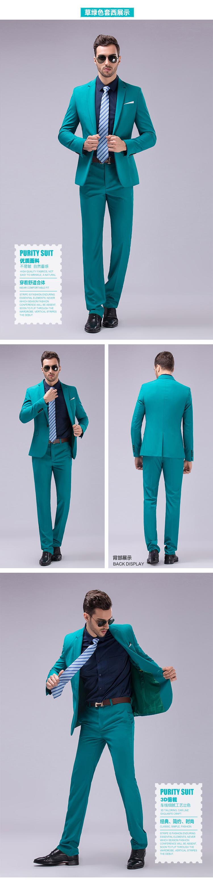 3bd738adca6 2017 High Quality New Spring Autumn Cotton Linen blend Blazer Men Casual  Outwear Slim Business suit Black gray plus size M-3XLUSD 78.00 piece