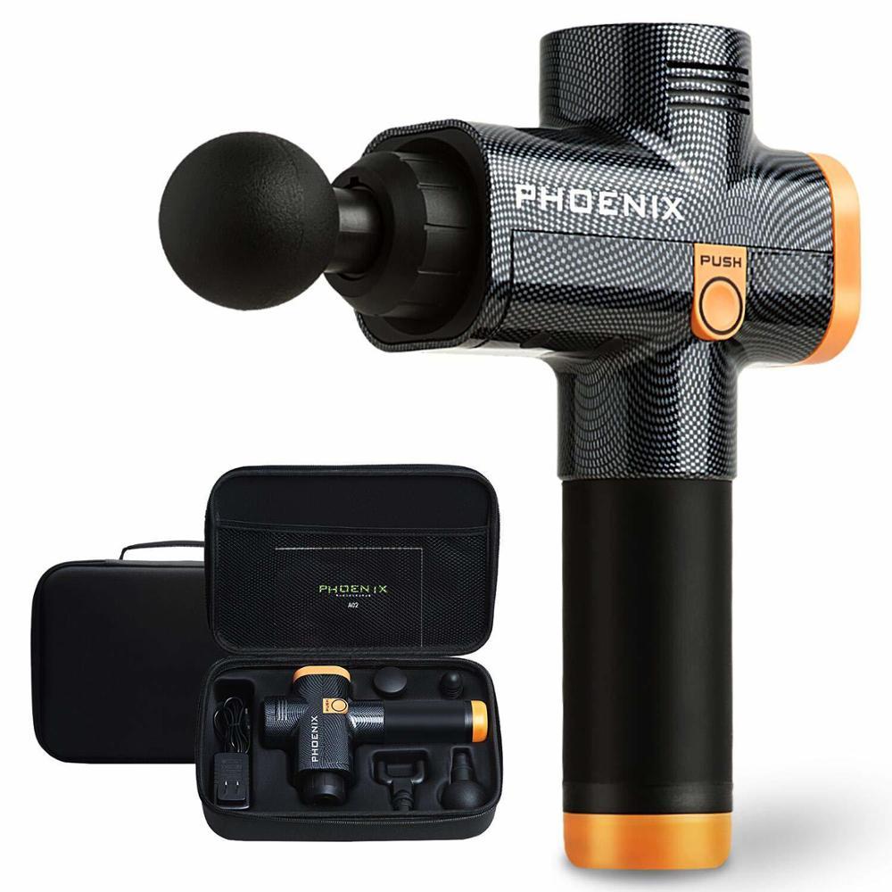Nouveau 2019 Phoenix A2 pistolet de Massage musculaire masseur de tissus profonds pistolet de thérapie exercice de soulagement de la douleur musculaire mise en forme du corps remplacer