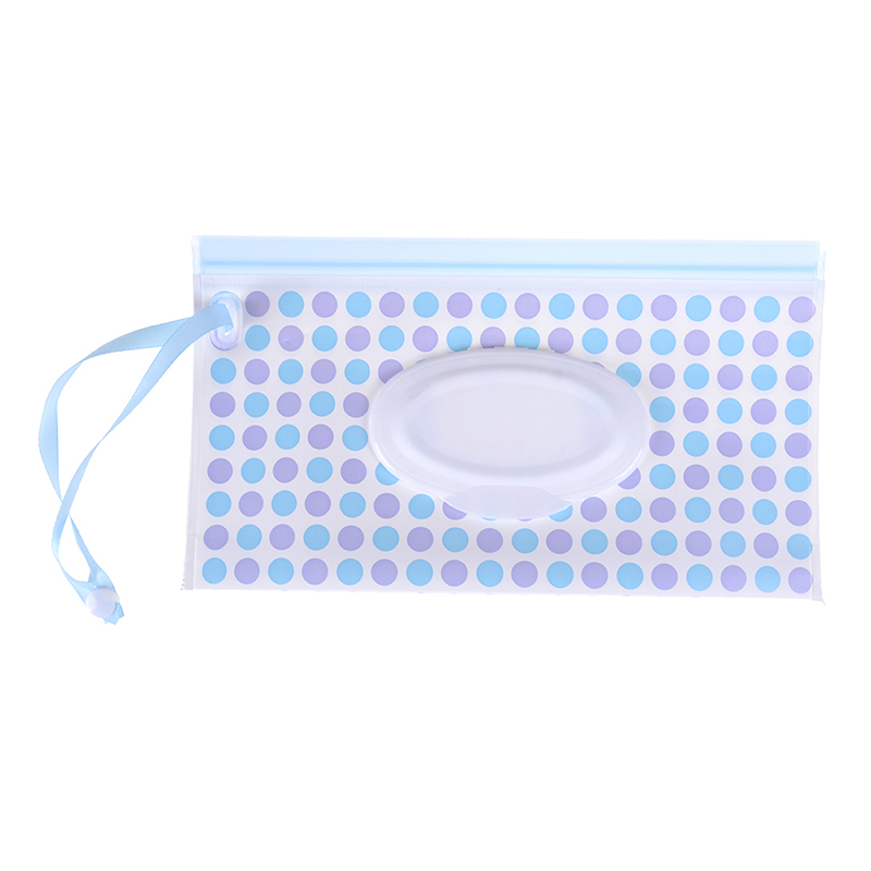 Легко переносить клатч и чистые салфетки чехол для переноски экологичная Упаковка для влажных салфеток раскладушка косметический мешок защелкивающийся ремень салфетки контейнер