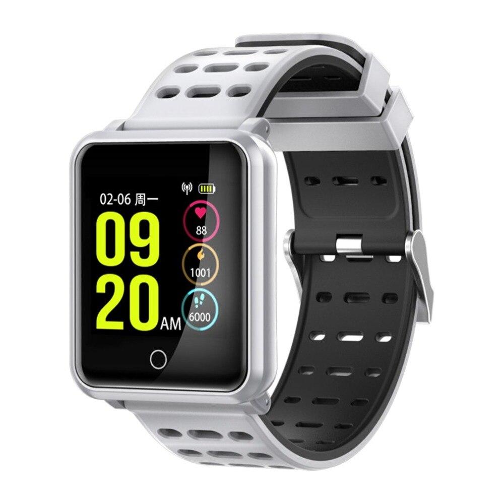 TF2 Smart Watch 1,3 Цвет Экран крови Давление монитор сердечного ритма шагомер браслет IP68 Водонепроницаемый спортивные часы новый