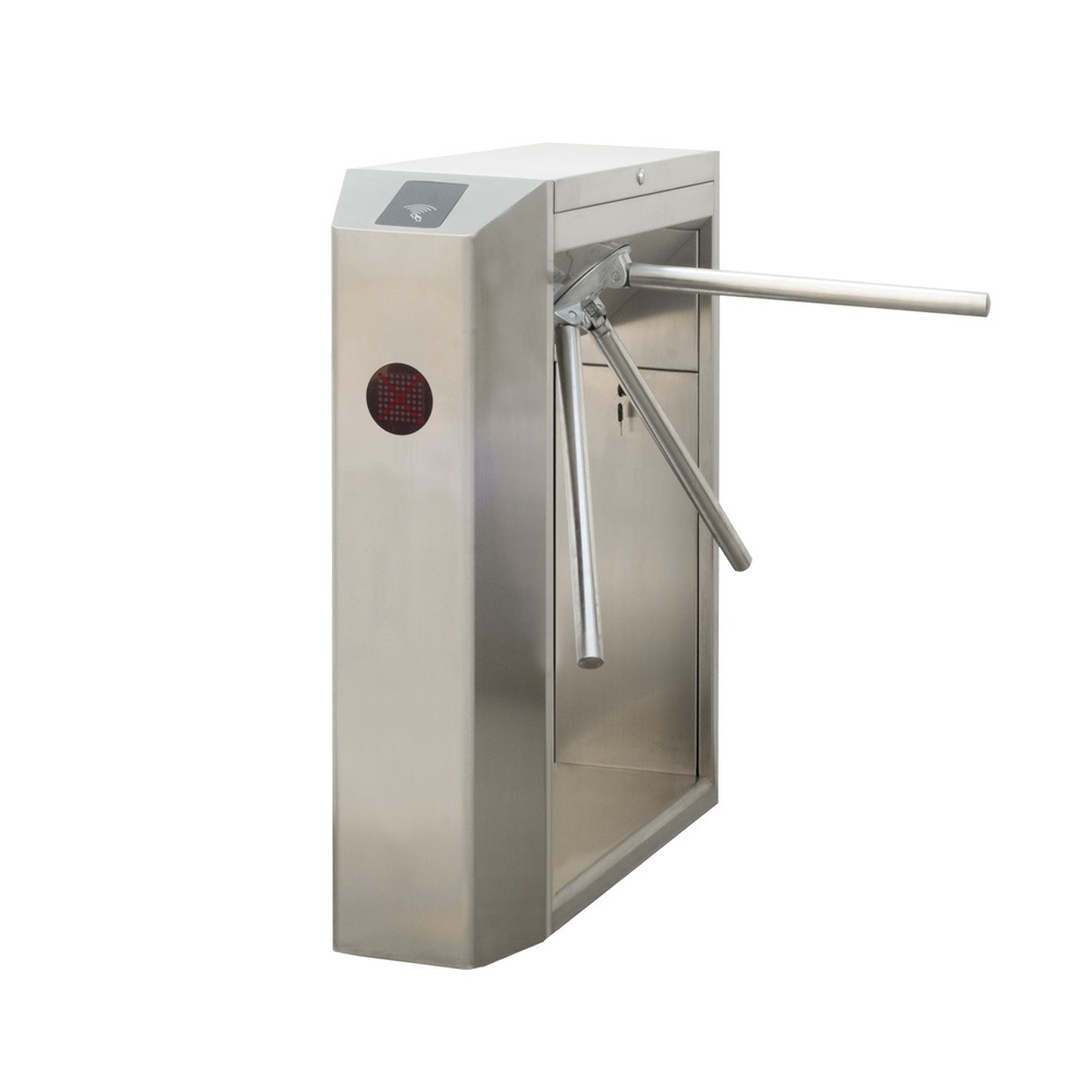 Automatic Tripod Turnstile Gate for Parking / stadium entrance control/torniquetes access control entrance swing gate turnstile for entrance and exit system gate public facilities