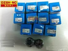 Бесплатная доставка, 3 шт. ER16 цанги 3.175 мм, 4 мм, 6 мм + 3 шт. ER16A Гайка для ЧПУ фрезерного токарного инструмента и двигателя шпинделя