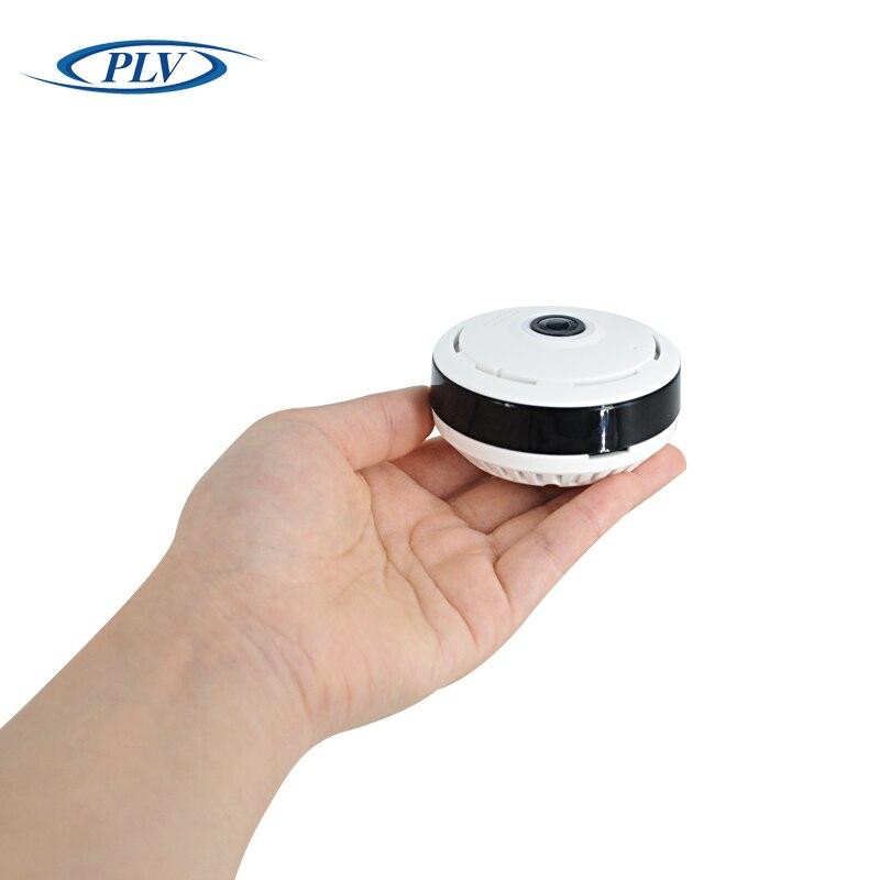 bilder für PLV Drahtlose WIFI Ip-kamera 360 Fisheye Panorama Dome Kamera 1,3 Mt 960 P CCTV Nachtsicht Videoüberwachung Sicherheit unterstützung TF