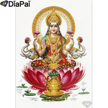 DIAPAI 100% Full Square/Round Drill 5D DIY Diamond Painting Religious Buddha Diamond Embroidery Cross Stitch 3D Decor A18708 diapai 5d diy diamond painting 100% full square round drill text moon buddha diamond embroidery cross stitch 3d decor a21533