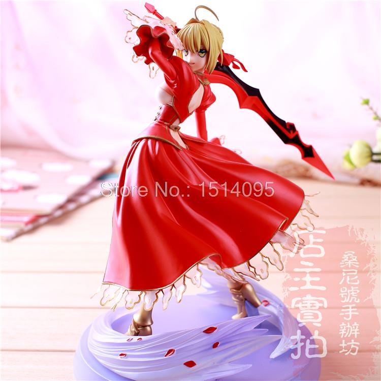 ФОТО Fate stay Night Fate/EXTRA Saber Lily 1/7 Scale PVC Figure Collectible Model Toy 9