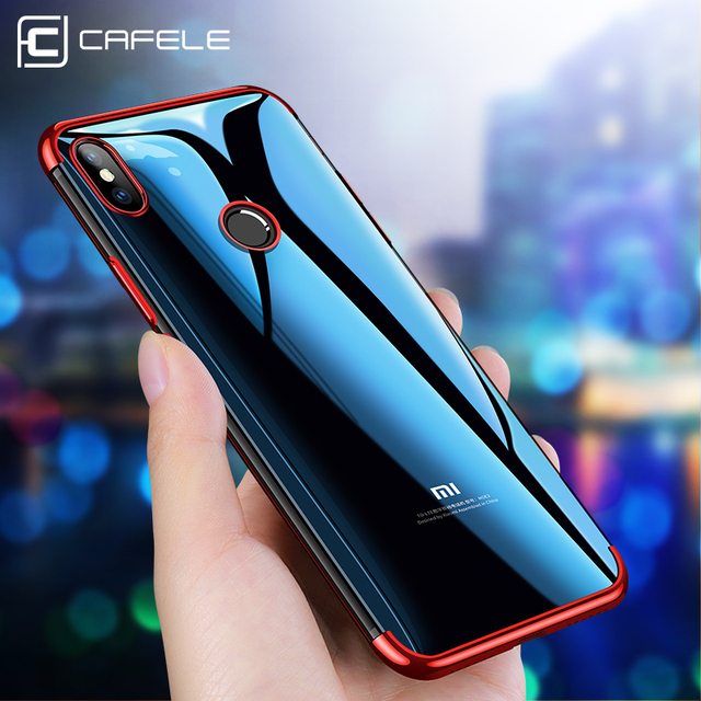 Cafele Electroplate TPU Case for Xiaomi 8 Soft Flexible TPU Case Cover for Xiaomi Mi 8 Electroplate Color Case for Xiaomi 8