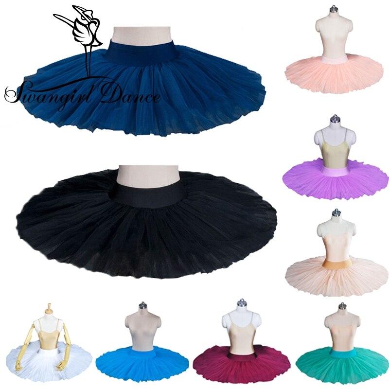 children black Half Ballet Tutu for girls white ballerina tutus professonal half pancake platter ballet tutu