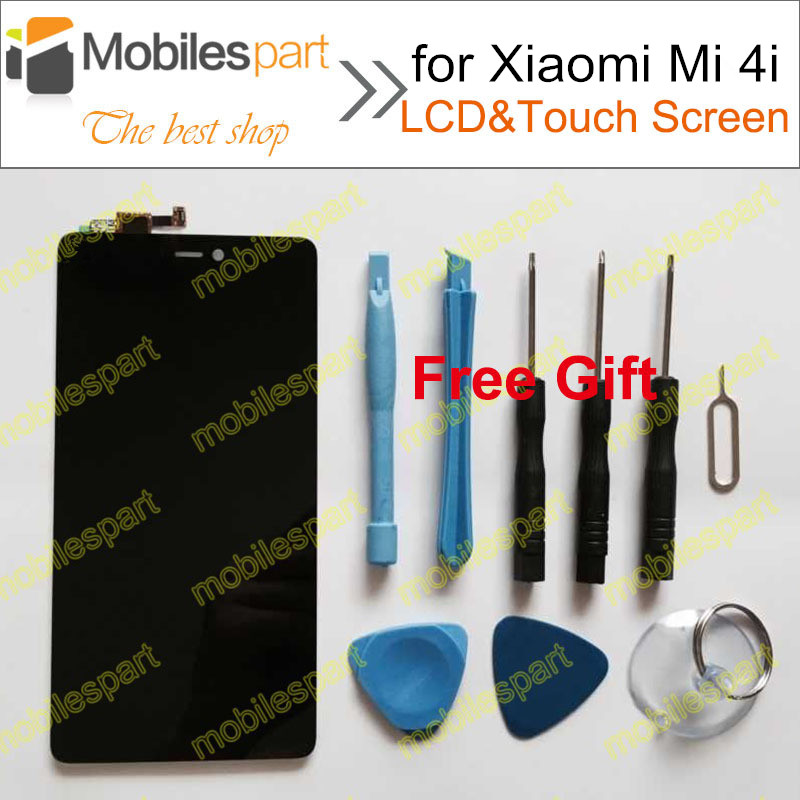 imágenes para Para Xiaomi Mi4i Pantalla LCD 100% Probado Pantalla LCD + Reemplazo de la Pantalla Táctil de Alta Calidad Para Xiaomi Millas Mi4i 4i Smartphone