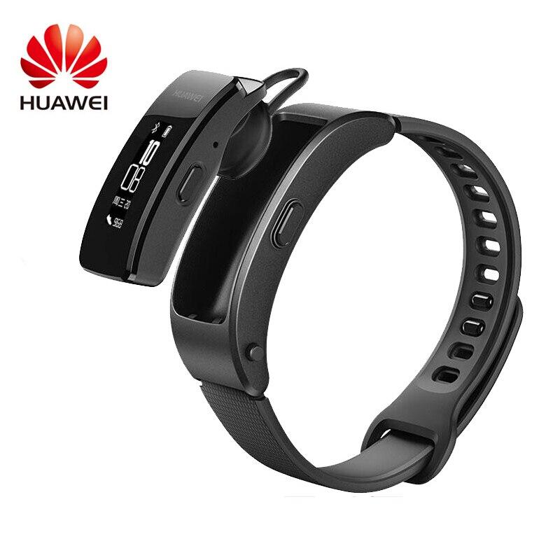 D'origine Huawei Talkband B3 Lite Smart Bracelet Bluetooth casque Réponse/Fin D'appel Courir À Pied Sommeil Auto Alarme Piste Message