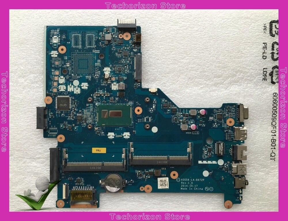 780118-001 780118-501 Pour HP 15-R Ordinateur Portable Carte Mère ASO56 LA-B972P SR23Y I5-5200U DDR3 testée fonctionnant