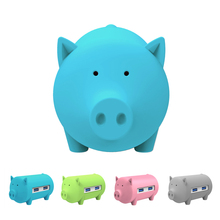 Mini Pig USB Hub 3.0 with 3 usb Ports,SD/TF Card Reader for MacBook Air Laptop PC Support OTG All in one function Cute piggy HUB