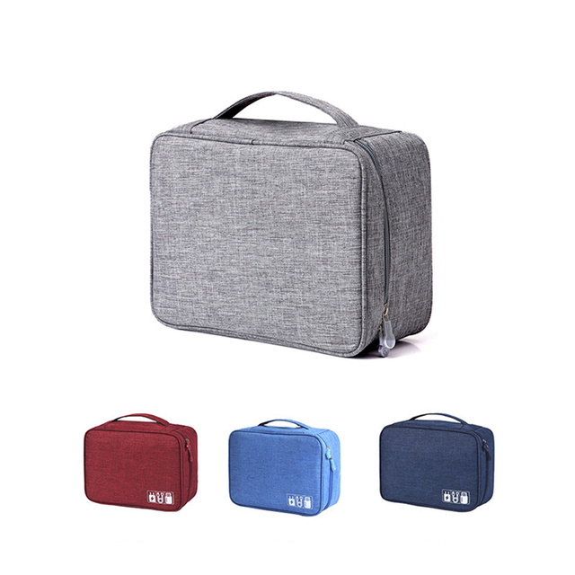 Travel Cable Bag Portable Digital USB Gadget Organizer for Charger Wires 3