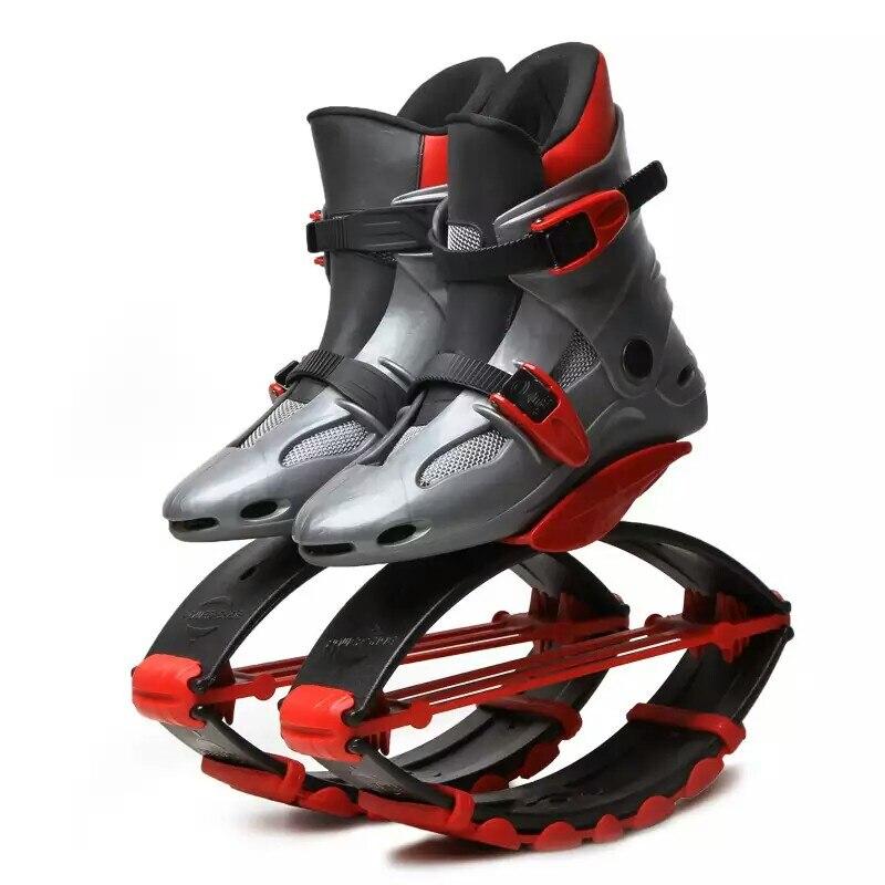 Unisex Fitness Kangaroo Jump Shoes Rebound Shoes Recomend Weight 20-110kg(44lb-243lb) Bounce shoes сумка cooskin kangaroo 88724 38 ol