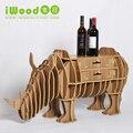 Continental rinoceronte modelagem gaveta prateleiras prateleiras criativo enfeites de decoração para casa artesanato de madeira casa decoração mesa de rack de mesa