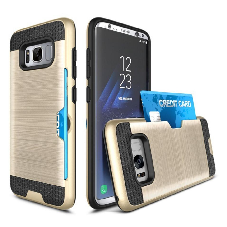 Hybrid Armor Drop Shock Protection Holder Cover Case For Samsung Galaxy S8 Plus S7 Edge S6 Edge S5 S4 S3 Neo Note 5 Case Cover