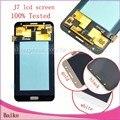 Для Samsung Galaxy J7 J700 J7008 Жк-Экран + Внешний Сенсорный Экран Планшета Черный/Белый