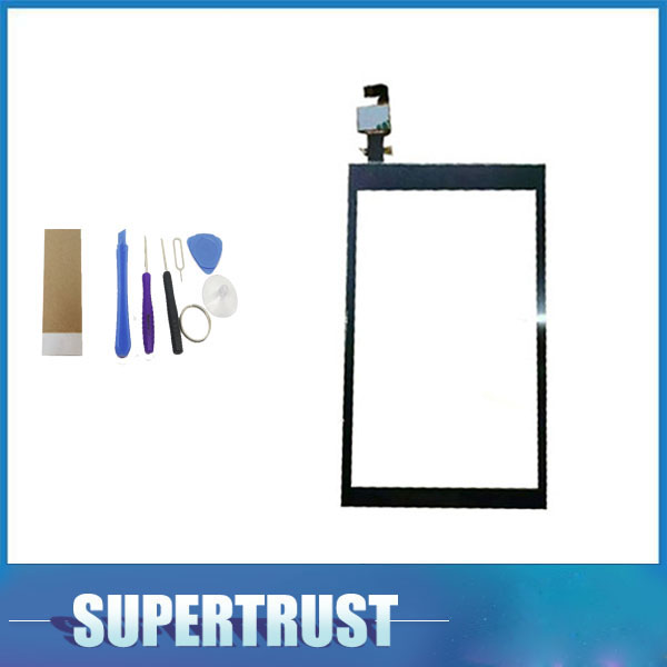 5.0 Inch For HTC Desire 620 620G D620 Touch Screen Digitizer Front Glass Lens Sensor Panel Black Color With Tools+tape
