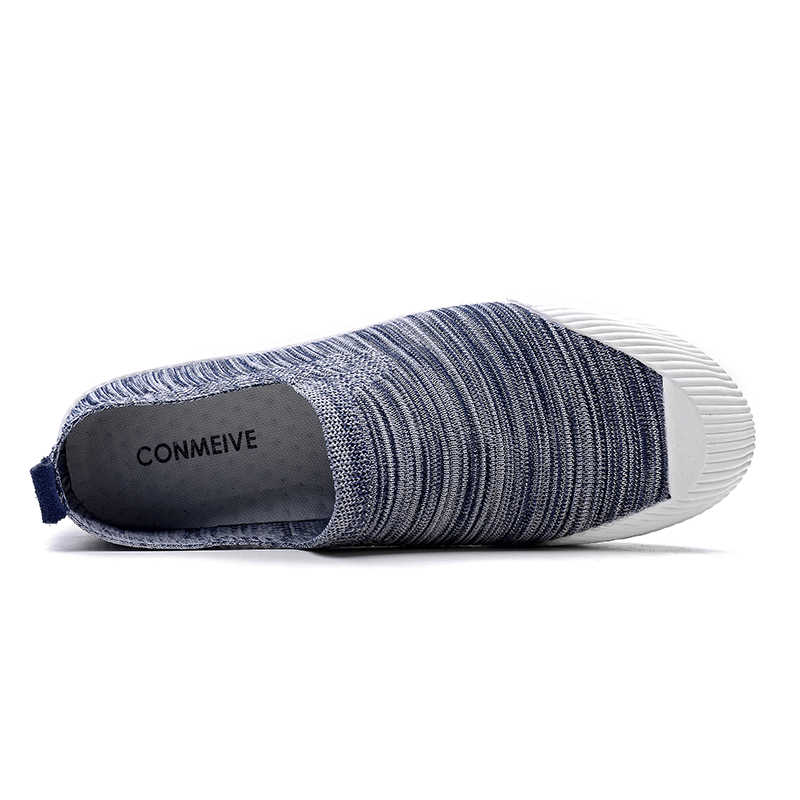CONMEIVE фирменные дышащие кроссовки Для мужчин Классические свет Скейтбординг обувь человек против скользкий износостойкая прогулочная обувь