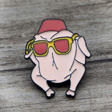 K101 Turkey Friends TV Show Pin Funny Metal Brooches and Pins Enamel Pin for Women Backpack Badge Brooch T-shirt Collar Jewelry цена 2017