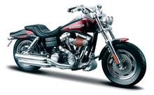 Maisto 1 18 Harley 2009 FXDFSE CVO Fat Bob MOTORCYCLE BIKE Model FREE SHIPPING