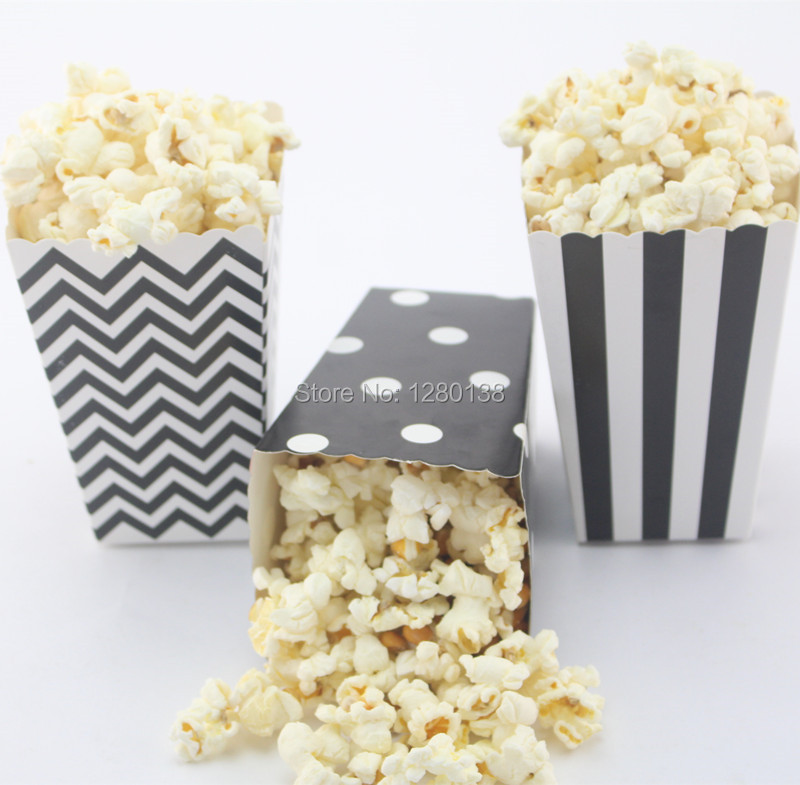 5400pcs Baby Shower Birthday Party Favor Popcorn Boxes More Colors ...