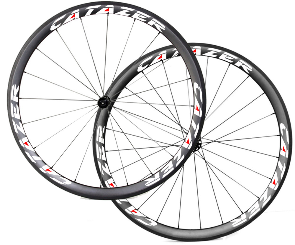 Road Bike 38mm Deep Carbon Wheels Tubeless Wheel Super Light 700C Basalt Brake Surface font b