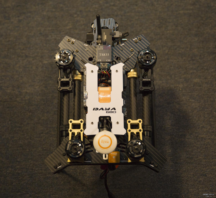 3K Carbon Fiber Foldable Quadcopter Frame Aluminum Alloy Folding Parts Standard X 680 Multicopter 4 Axis RC Drone UVA Frames