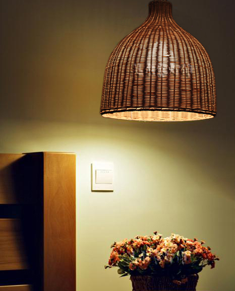 rattan pendant light dining lamp newest Rustic rattan restaurant lamp balcony lamps ZCL bamboo rattan pendant light rustic lamps rattan lamp single cage lights small house lamp pendant lamp zb24