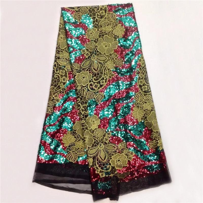 eersteklas kant stof met pailletten, groothandel mooie Afrikaanse - Kunsten, ambachten en naaien - Foto 3