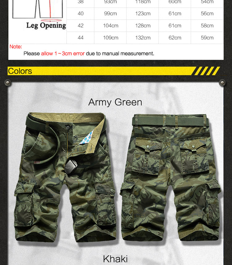 Cargo Shorts (3)