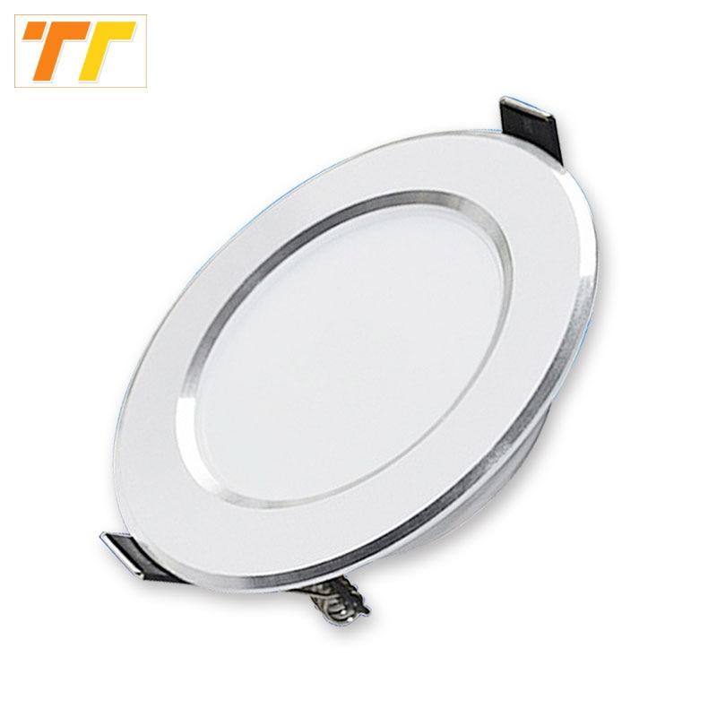 10pcs / lot Led Downlights LED 3W 5W 7W 9W 12W 15W 18W تراشه - روشنایی داخلی