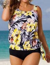 Women s sport suit large size bikini set Plus Size tankini Swimming suit For Women 2017