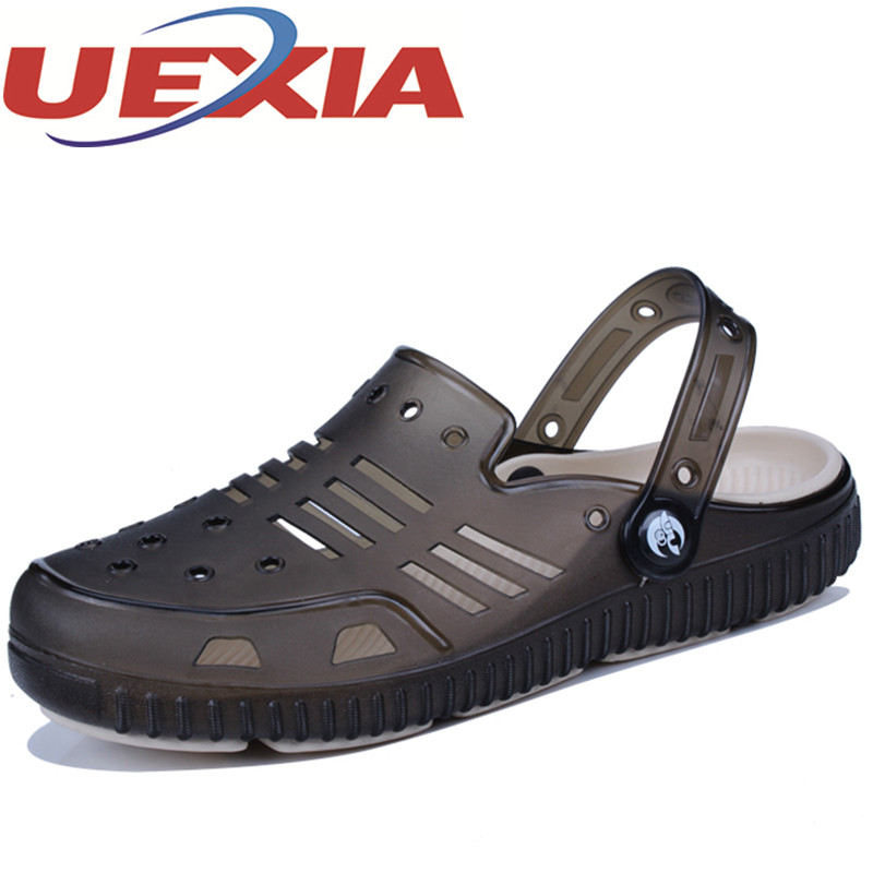 Summer Fashion Plus Size Beach Sandals For Men Outdoor Breathable Casual Flat Sandalias Hombre New Style EVA Lightweight Slipper