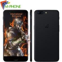 Original Oneplus 5 Snapdragon 835 Octa Core 6/8GB RAM 64/128GB ROM Mobile Phone 5.5inch 20MP Dual Camera 3300mAh NFC Fingerprint