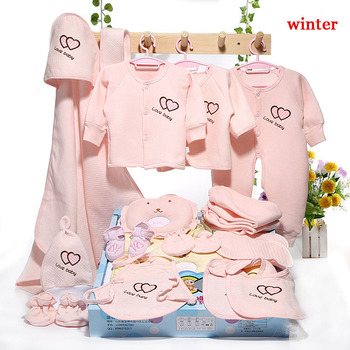 Emotion Moms 22pieces Newborn baby girls Clothing 0-6months infants baby clothes girl boys clothing baby gift set without box Newborn