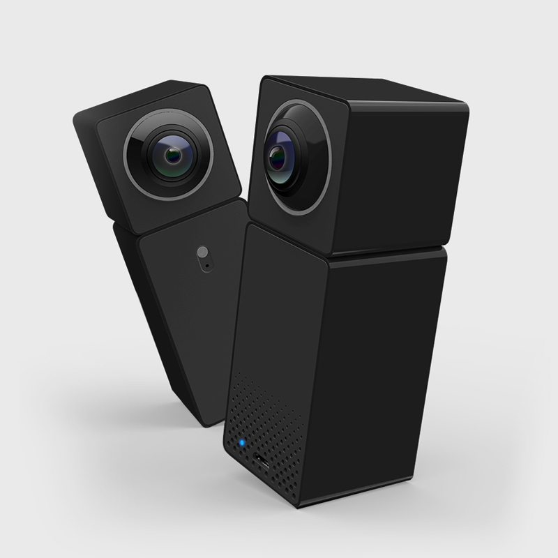 Xiaomi Xiaofang Camera Dual Lens Version Panoramic Smart Network IP Camera Two way Audio Four Screens