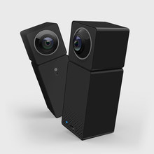 Xiaomi Xiaofang Camera Dual Lens Version Panoramic Smart Network IP Camera Two-way Audio Four Screens in One Window Support VR(China)