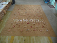 100% wool 2014 Top Fashion Sale Freeshipping Alfombra Styling Export Trade Handmade Needlepoint Rug 5033f 3x4.32 Meters Carpets
