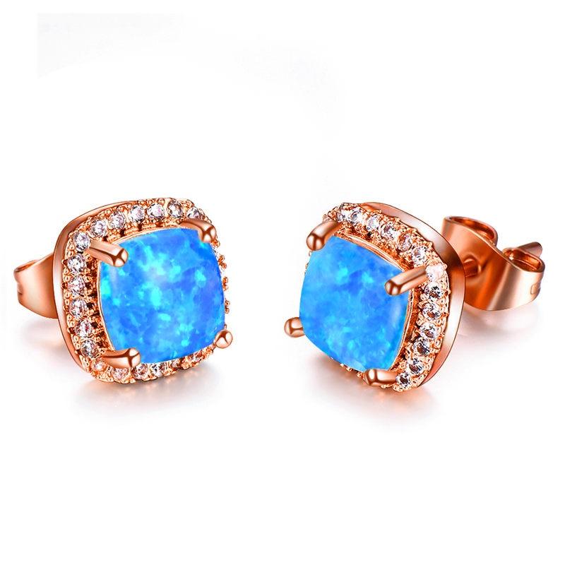 Rose Blue Opal