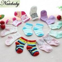 Смягчиться носочки прямых младенцев пола продаж чистого завод новорожденных хлопка носки
