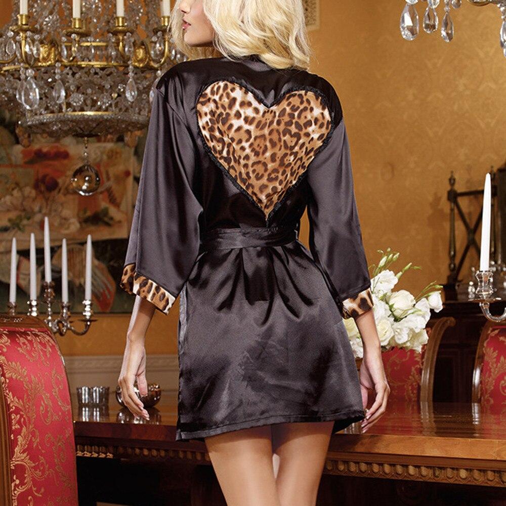 Das Beste Pyjamas Frauen Sehen Sexy Out Clubwear Kleid Leopard Robe Sexy Unterwäsche Frauen Pyjamas Sexy Sexy Dessous Heiße Nachtwäsche Frauen % 8 äRger LöSchen Und Durst LöSchen Schlaf-oberteile