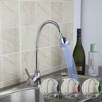 Kitchen Faucets Torneira 2015 New Brand Chrome Swivel 360 Single Handle 8551 6 Deck Mounted Basin