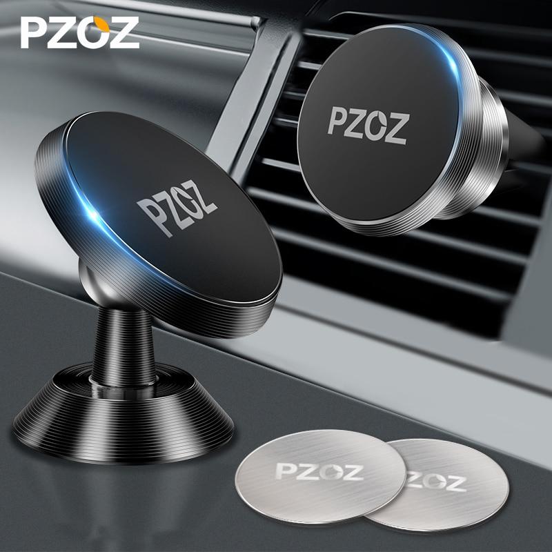 PZOZ магнитный держатель автомобильный держатель для телефона в машину Универсальный держатель подставка для телефона магнит для телефона в...